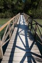 Free Wooden Bridge Royalty Free Stock Images - 27021659