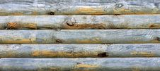 Free Wooden Logs With Natural Pattern Background Royalty Free Stock Photos - 27020398
