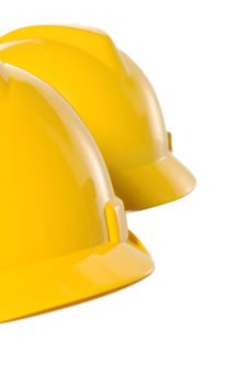 Free Two Yellow Helmet Royalty Free Stock Photos - 27024628