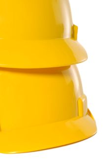Free Two Yellow Helmet Stock Images - 27024634
