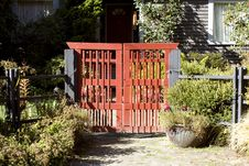 Free Red Gate Stock Photos - 27025363