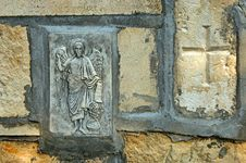 The Rock Monastery St Dimitrii Of Basarbovo Stock Image