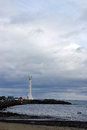 Free Lighthouse On A Spit Stock Image - 27031081
