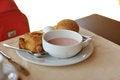 Free Healthy Breakfast Royalty Free Stock Photo - 27034375