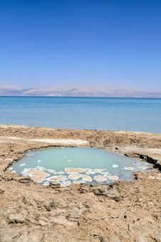 Free Dead Sea Landscape Stock Images - 27031634