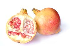 Free Pomegranate Fruit Royalty Free Stock Images - 27033529