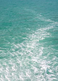 Background Of Rippled Pattern Of The Sea Royalty Free Stock Image