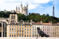 Free Lyon Colorful Houses View Stock Photography - 27042392