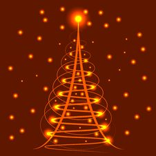 Free Christmas Abstract Background Royalty Free Stock Image - 27041686