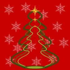 Free Christmas Abstract Background Royalty Free Stock Image - 27041696
