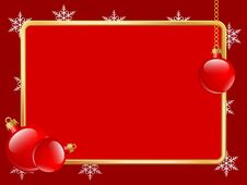 Free Christmas Abstract Background Royalty Free Stock Image - 27041706