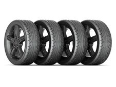 Free Black Sport Wheels Stock Photography - 27045482