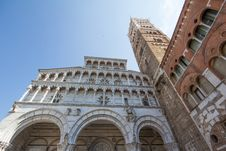 Free The Cathedral Of Lucca Royalty Free Stock Photography - 27047877