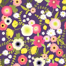 Free Flower Pattern Stock Photography - 27052322