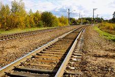 Free Railroad Track Stock Photos - 27053963