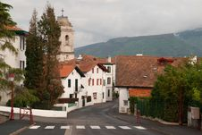 Free Picturesque Village In Basque Country, France Stock Photography - 27054002