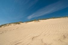 Free Dunes Formed By Wind Stock Images - 27054184