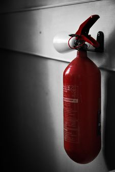 Free Lonely Extinguisher Stock Images - 27055424
