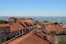 Free Lisbon Roofs, Portugal Royalty Free Stock Images - 27057489