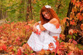 Free Beautiful Red-haired Bride Royalty Free Stock Images - 27064459