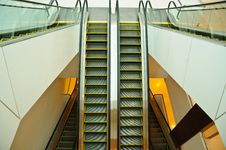 Free Moving Escalator Stock Image - 27064291