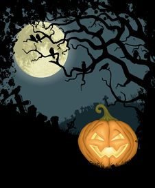Free Halloween Background Royalty Free Stock Photos - 27065888