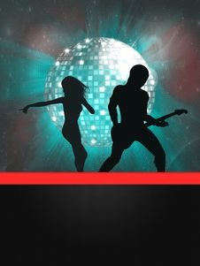 Free Party Banner Stock Photography - 27067192