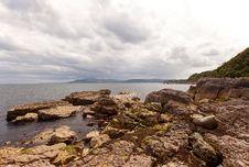 Free Rocks At The Atlantic Ocean Royalty Free Stock Photo - 27068075
