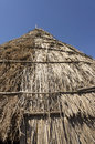 Free Traditional Straw Hut In Greek Country Royalty Free Stock Photo - 27074565