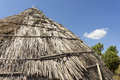 Free Traditional Straw Hut In Greek Country Royalty Free Stock Photos - 27074638