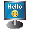 Free Hello With Smile Royalty Free Stock Photography - 27075257