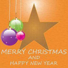 Free Christmas Background . Stock Photography - 27072562