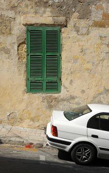 Free Old Shutters, Valetta, Malta. Royalty Free Stock Photo - 27072605