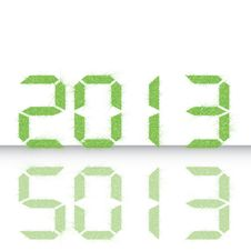 New Year 2013. Stock Images