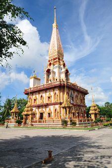 Free Temple Of Wat Chalong, Phuket, Thailand Stock Photo - 27073740