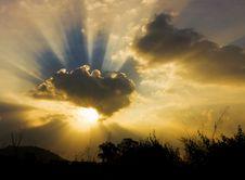 Free Sunset Stock Image - 27076421