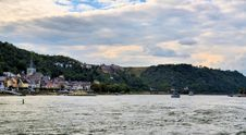 Free Rhine River At Germany Stock Image - 27077141