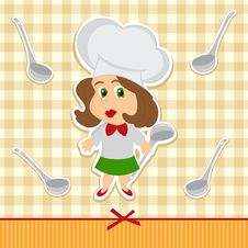 Free Cook Women Vector Stock Photos - 27079853