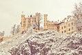 Free Castle Hohenschwangau Royalty Free Stock Image - 27081606