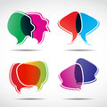 Free Abstract Speech Bubbles Stock Photos - 27082013