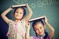 Free Asian Schoolgirl Portrait Stock Photography - 27082722