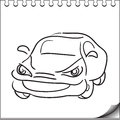 Free Car Character Royalty Free Stock Photos - 27086398