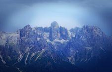 Blue Mountains Royalty Free Stock Photo