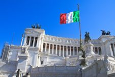 Free Monument To Vittorio Emanuele II, Rome Royalty Free Stock Image - 27081896