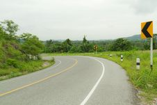 Free Curve Road. Royalty Free Stock Photography - 27082707