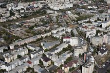 Aerial View With Buildings Royalty Free Stock Photo