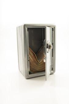 Free Money Safe If The Euro Implodes Royalty Free Stock Photos - 27085048