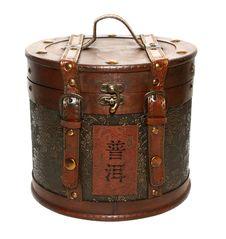 Pu-erh Tea In Box Royalty Free Stock Photography
