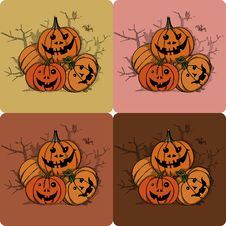 Free Pumpkins-Halloween Royalty Free Stock Images - 27087579