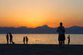 Free Sunset Over The Beach. Stock Image - 27096361